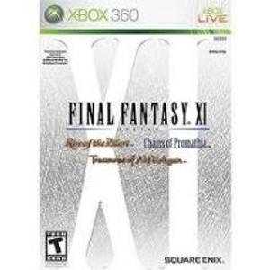 Final Fantasy XI Online - Xbox 360 Game