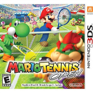 Mario Tennis Open - 3DS Game