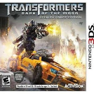 Transformers Dark Of The Moon - 3DS Game