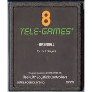 Baseball - Atari 2600 Game