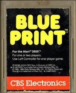 Blue Print - Atari 2600 Game