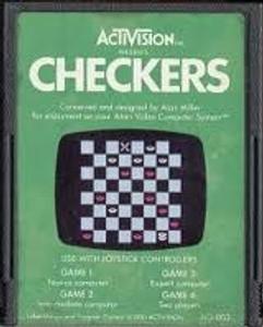Checkers - Atari 2600 Game