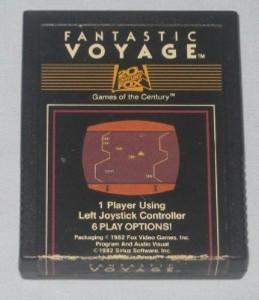 Fantastic Voyage - Atari 2600 Game