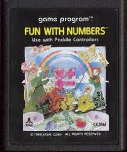 Fun With Numbers - Atari 2600 Game