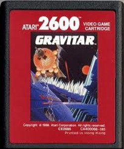 Gravitar Red Label - Atari 2600 Game