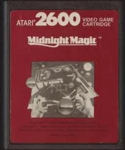 Midnight Magic Red Label - Atari 2600 Game