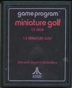 Miniature Golf - Atari 2600 Game