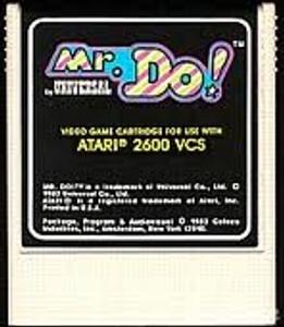 Mr. Do! - Atari 2600 Game