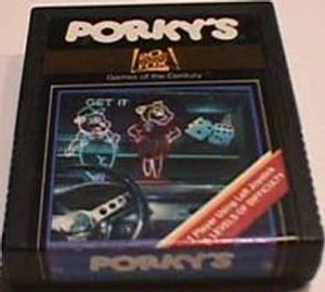 Porky's - Atari 2600 Game