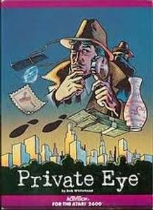 Private Eye - Atari 2600 Game