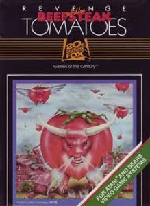 Revenge of the Beefsteak Tomatoes - Atari 2600 Game
