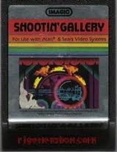 Shootin' Gallery - Atari 2600 Game