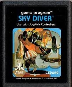 Sky Diver - Atari 2600 Game