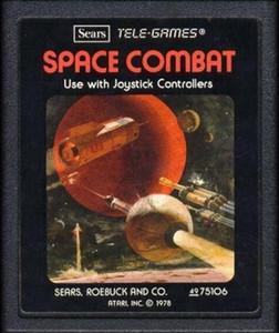 Space Combat - Atari 2600 Game