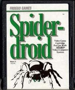Spiderdroid - Atari 2600 Game