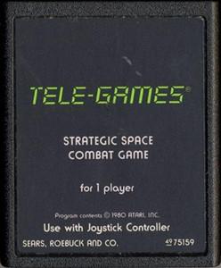 Stellar Track - Atari 2600 Game