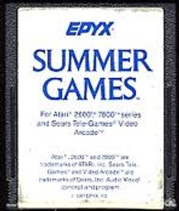 Summer Games - Atari 2600 Game