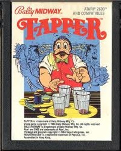 Tapper - Atari 2600 Game