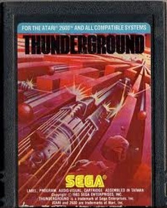 Thunderground - Atari 2600 Game