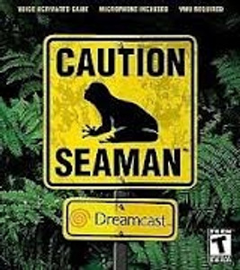 Caution Seaman - Dreamcast Game