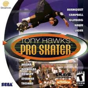 Tony Hawk's Pro Skater - Dreamcast Game
