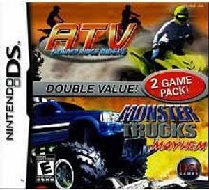 ATV Thunder Ridge Riders/Monster Trucks Mayhem - DS Game