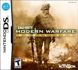 Call of Duty Modern Warfare Mobilized - DS Game