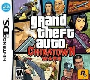 Grand Theft Auto Chinatown Wars DS - DS Game