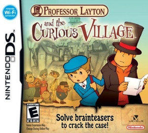 Prof. Layton Curious Village - DS Game