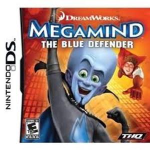 MegaMind Blue Defender - DS Game