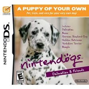 Nintendogs Dalmatian & Friends - DS Game
