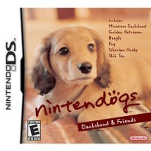 Nintendogs Dachshund & Friends - DS Game