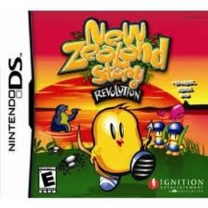 New Zealand Story Revolution - DS Game