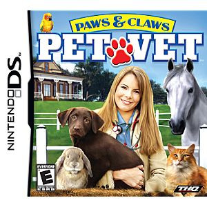 Paws & Claws Pet Vet - DS Game