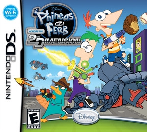 Phineas and Ferb 2D - DS Game
