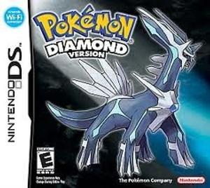Pokemon Diamond Version - DS Game