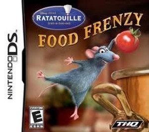 Ratatouille Food Frenzy - DS Game