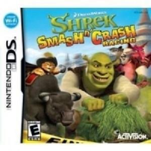 Shrek Smash n' Crash - DS Game