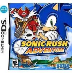 Sonic Rush Adventure - DS Game