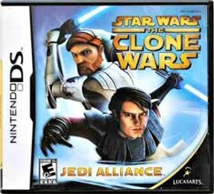 Star Wars The Clone Wars - DS Game
