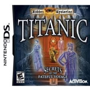 Titanic Secrets of the Fateful Voyage - DS Game