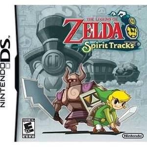 The Legend Of Zelda Spirit Tracks DS - DS Game
