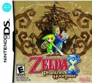 Legend of Zelda Phantom Hourglass - DS Game
