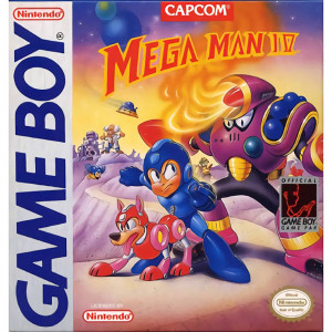 Mega Man IV Video Game for Nintendo Original Game Boy