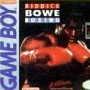 Riddick Bowe Boxing - Game Boy