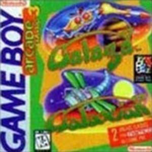 Arcade Classic 3 Galaga and Galaxian - Game Boy