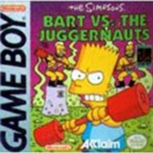 Simpsons: Bart Vs. The Juggernauts - Game Boy