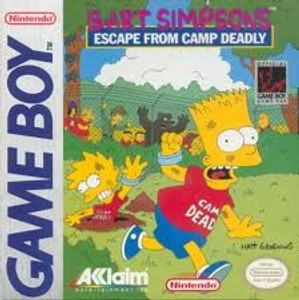 Bart Simpson's Escape From Camp Deadly - Game Boy