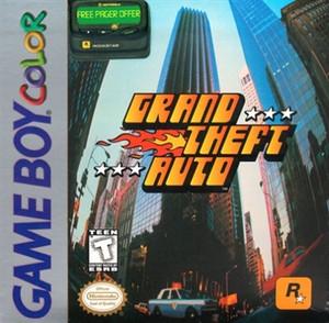 Grand Theft Auto - Game Boy