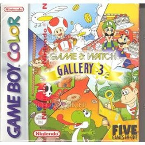 Game & Watch Gallery 3 - Game Boy